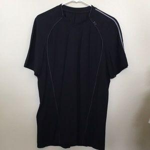 Lululemon Men's Black Short Sleeve Shirt